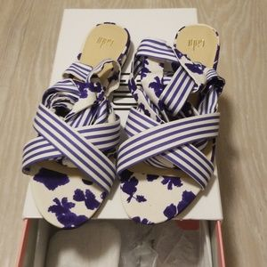 Cabi tied up sandals